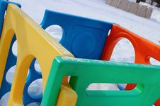 Play Center In Winter 1 Stock Photos