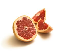 Slices Of Grapefruit Royalty Free Stock Photo