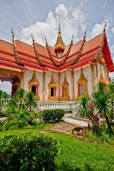 Free Wat Chalong Ubosot Stock Photography - 31915552