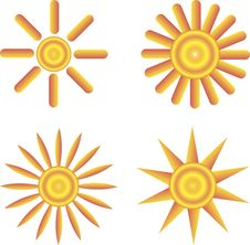 Free The Sun Icon. Symbol. Stock Photos - 31916673