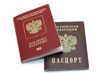 Free Documents Confirming Their Identity. Passport Of The Citizen Of The Russian Federation And The Passport Of A Citizen Of The Russia Royalty Free Stock Photo - 31919765