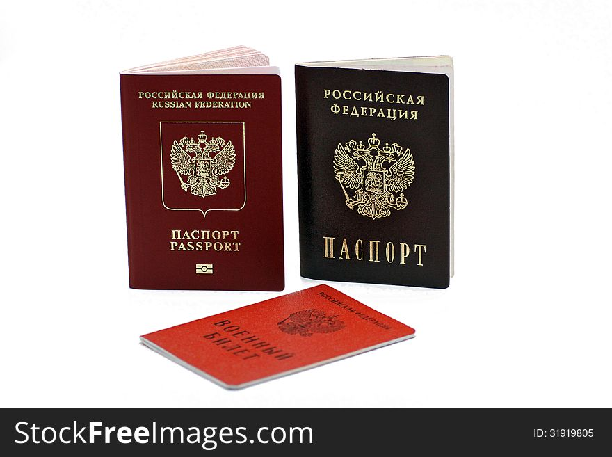 Documents confirming their identity. Passport of the citizen of the Russian Federation and the passport of a citizen of the Russia