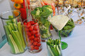 Free Assorted Fresh Vegetables With Dip Royalty Free Stock Photos - 31926358