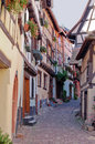 Free Street In The Wine Village Eguisheim Royalty Free Stock Images - 31926609