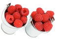 Free Buckets With Raspberries Royalty Free Stock Image - 31929666