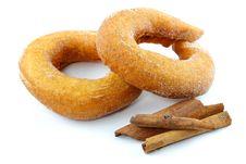 Free Donut With Cinnamon Stock Photos - 31922083