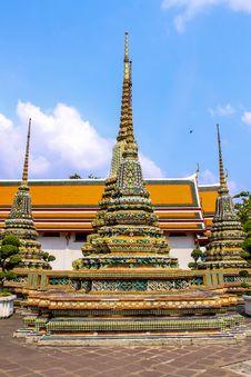 Free Wat Pho Bangkok Thailand Royalty Free Stock Image - 31927196