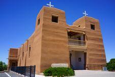 Free Sacred Heart Catholic Church Nambe Pueblo Royalty Free Stock Image - 31932346