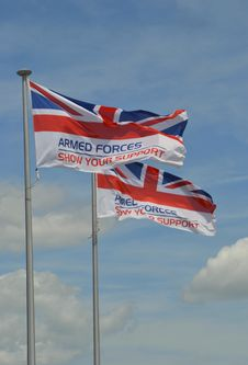 Free Armed Forces Union Jack Flag Stock Image - 31941211