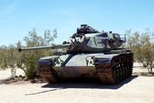 Free Tank In Desert Stock Images - 31941594
