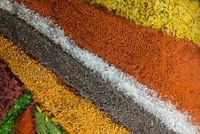 Free Colorful Sand Background Royalty Free Stock Photos - 31945078