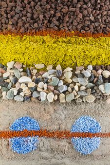 Free Stone And Sand Royalty Free Stock Photo - 31945135