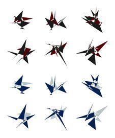 Free Creative Business Logo Set Royalty Free Stock Image - 31945426