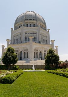 Free Bahai House Royalty Free Stock Photography - 31946177