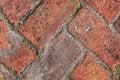 Free Old Medieval Brick Pavement Pattern Detail Stock Image - 31955251