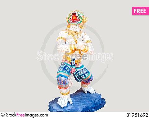 Free Hanuman Stock Photography - 31951692