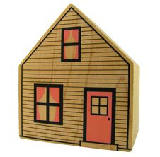 Free Isolated Toy House Stock Images - 31950414