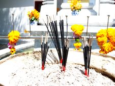 Free Incense Sticks. Stock Photos - 31951863