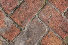 Free Old Medieval Brick Pavement Pattern Detail Stock Image - 31955251