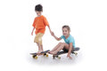 Free Fun With Skate Board Stock Photo - 31964600