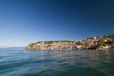 Lake Ohrid - Macedonia Stock Images