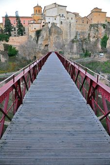 Bridge In Cuenca Royalty Free Stock Photos