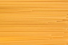 Frame Of Spaghetti Third Number Clouse-up Royalty Free Stock Images