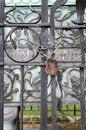 Free Iron Gate Royalty Free Stock Image - 31975926