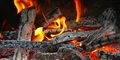 Free Fireplace With Coals Burning Down Stock Photography - 31976602