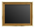 Free Gold Picture Frame Stock Photo - 31977650
