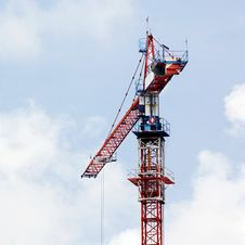 Free Working Crane Stock Photography - 31975102