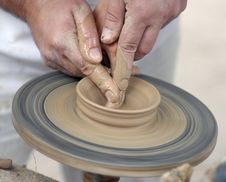 Free Pottery Wheel Stock Photos - 31976813