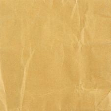 Free Brown Crumpled Paper Texture Royalty Free Stock Photo - 31977515