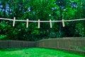 Free Summer Clothes Line Stock Photos - 31987843