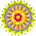 Free Floral Mandala Stock Photo - 31993550