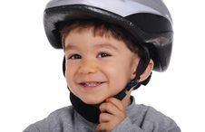 Free Cyclist Wears Helmet Stock Photos - 31990063