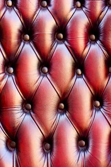 Leather Chair Texture Stock Images