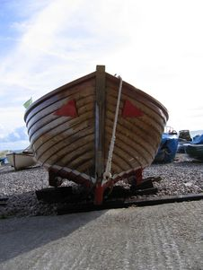 Free Bow Of Boat In Devon Stock Photos - 322113