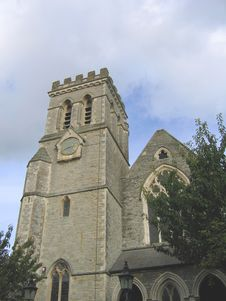 Devon Church Stock Photo