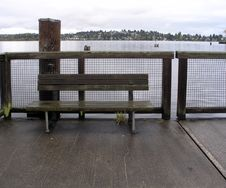 Free Platform Bench Royalty Free Stock Photo - 322705
