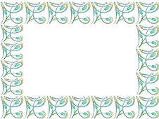 Free Decorative Border Royalty Free Stock Images - 323539