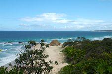 Free Australian Beach - Valla Royalty Free Stock Image - 323686