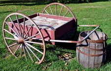 Free Antique Hand Cart Stock Images - 323994