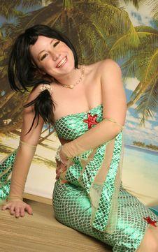 Free Mermaid Smiling Stock Photo - 324130