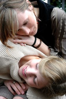 Free Friendship Moment Stock Photography - 324522