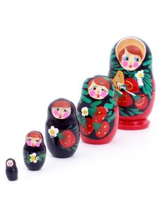 Free Russian Dolls Royalty Free Stock Photo - 324685