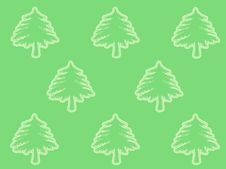 Free Christmas Tree Pattern Royalty Free Stock Image - 324996