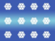 Free Patterned Snow Flakes Stock Photography - 325092