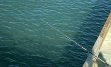 Free Fishing Pole Royalty Free Stock Photography - 325707