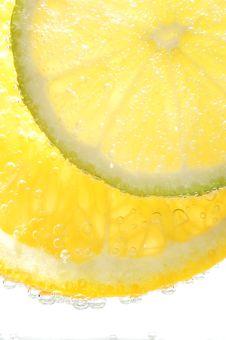Free Lemon Slices Royalty Free Stock Photo - 327655